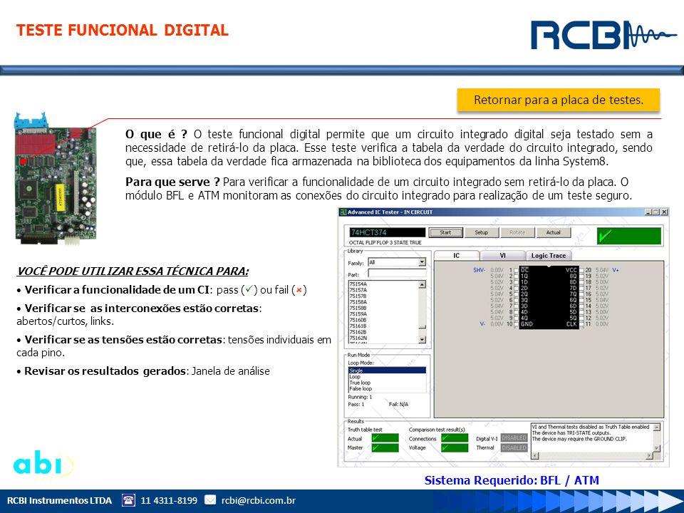 Sistema Requerido: BFL / ATM