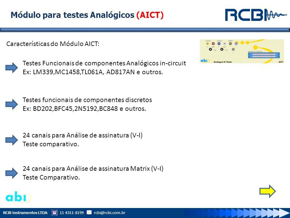 Módulo para testes Analógicos (AICT)