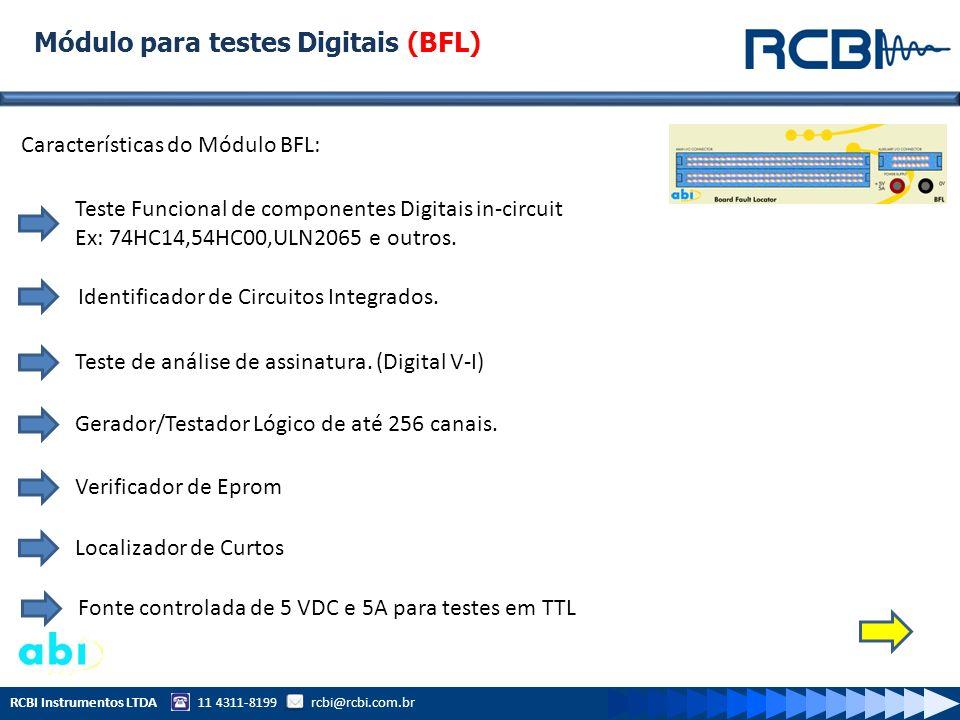 Módulo para testes Digitais (BFL)