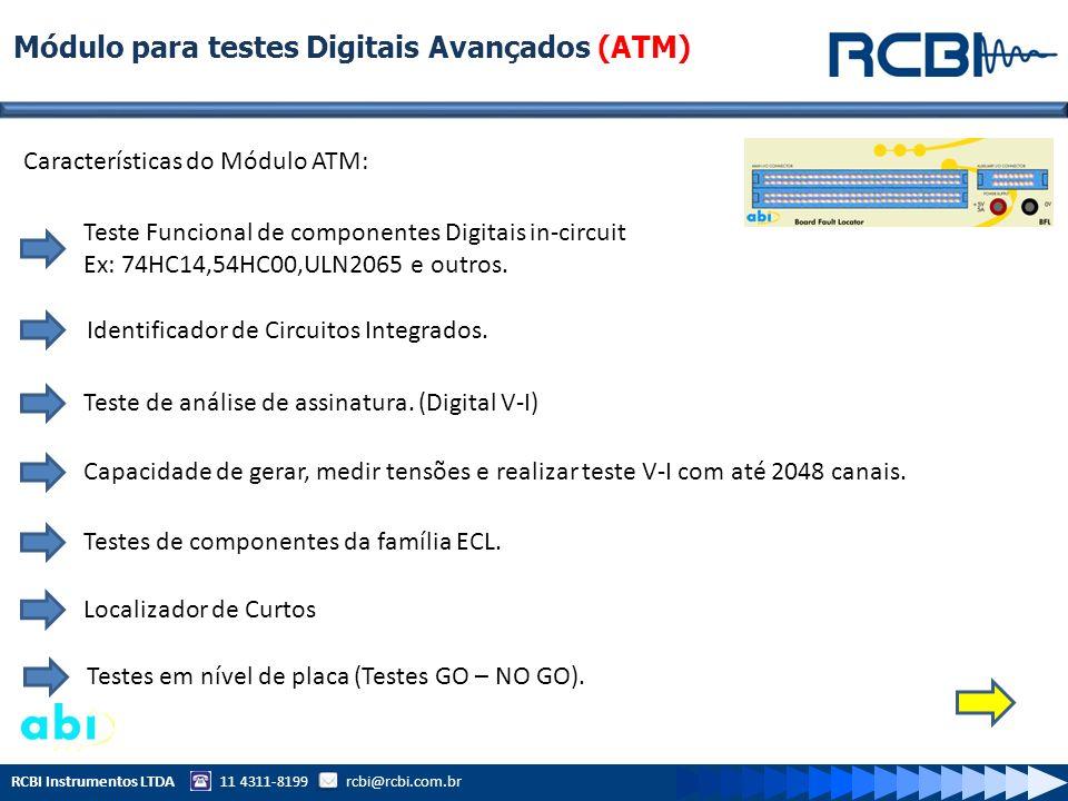 Módulo para testes Digitais Avançados (ATM)