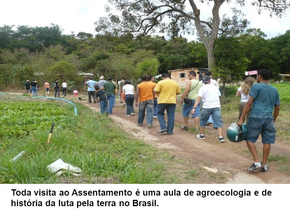 Toda visita ao Assentamento é uma aula de agroecologia e de história da luta pela terra no Brasil.