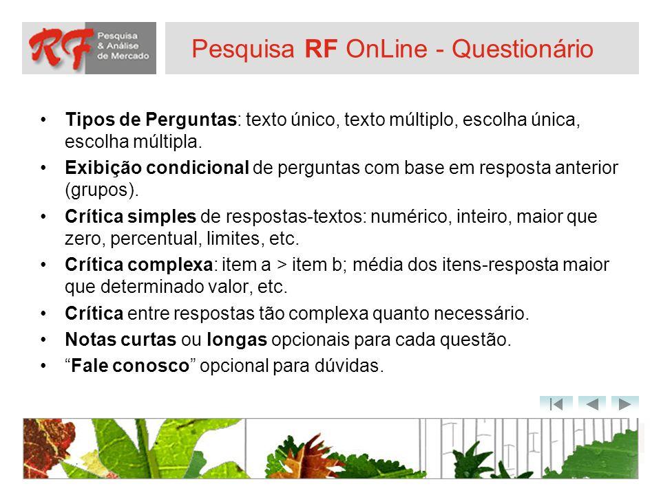 Pesquisa RF OnLine - Questionário