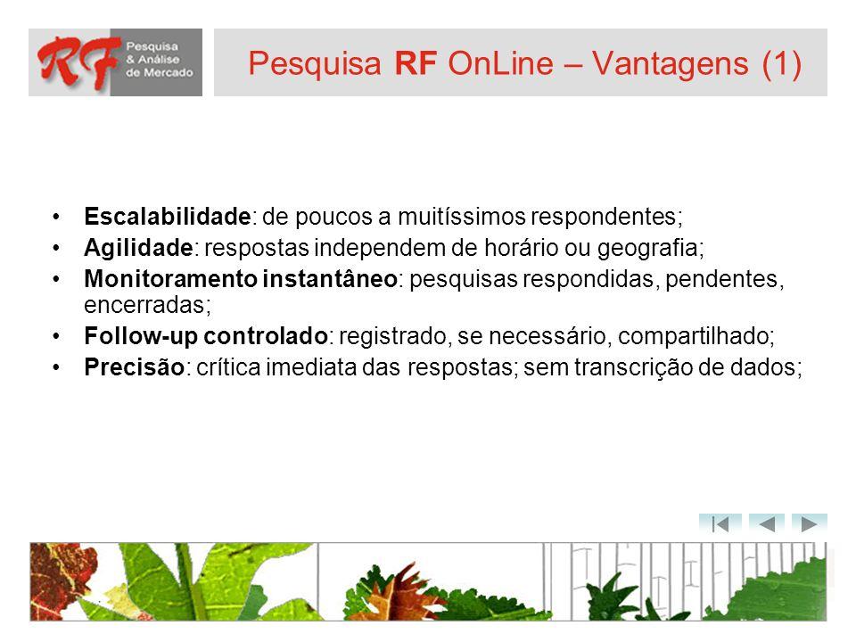 Pesquisa RF OnLine – Vantagens (1)