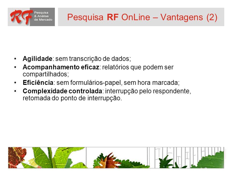 Pesquisa RF OnLine – Vantagens (2)