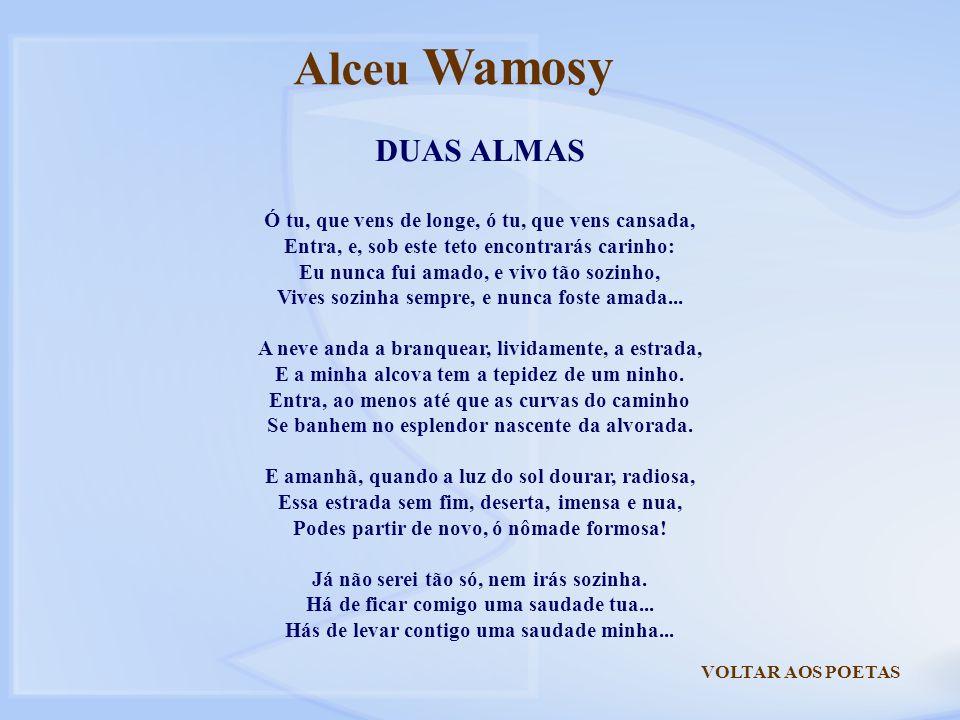 Alceu Wamosy DUAS ALMAS