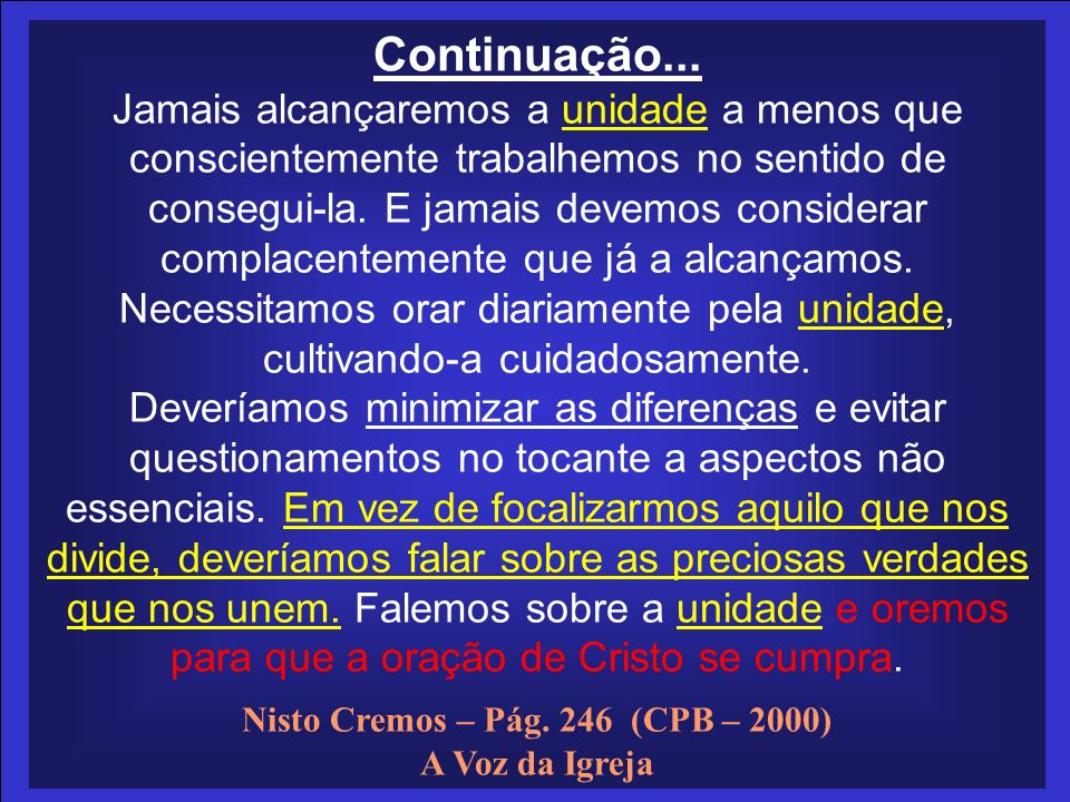 Nisto Cremos – Pág. 246 (CPB – 2000)