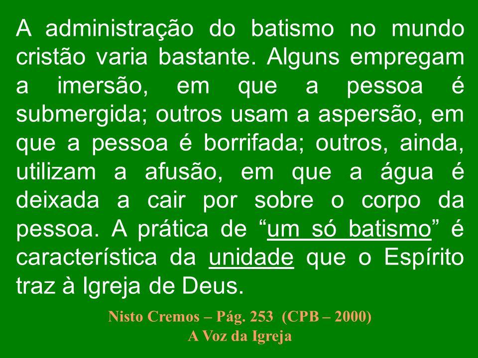 Nisto Cremos – Pág. 253 (CPB – 2000)