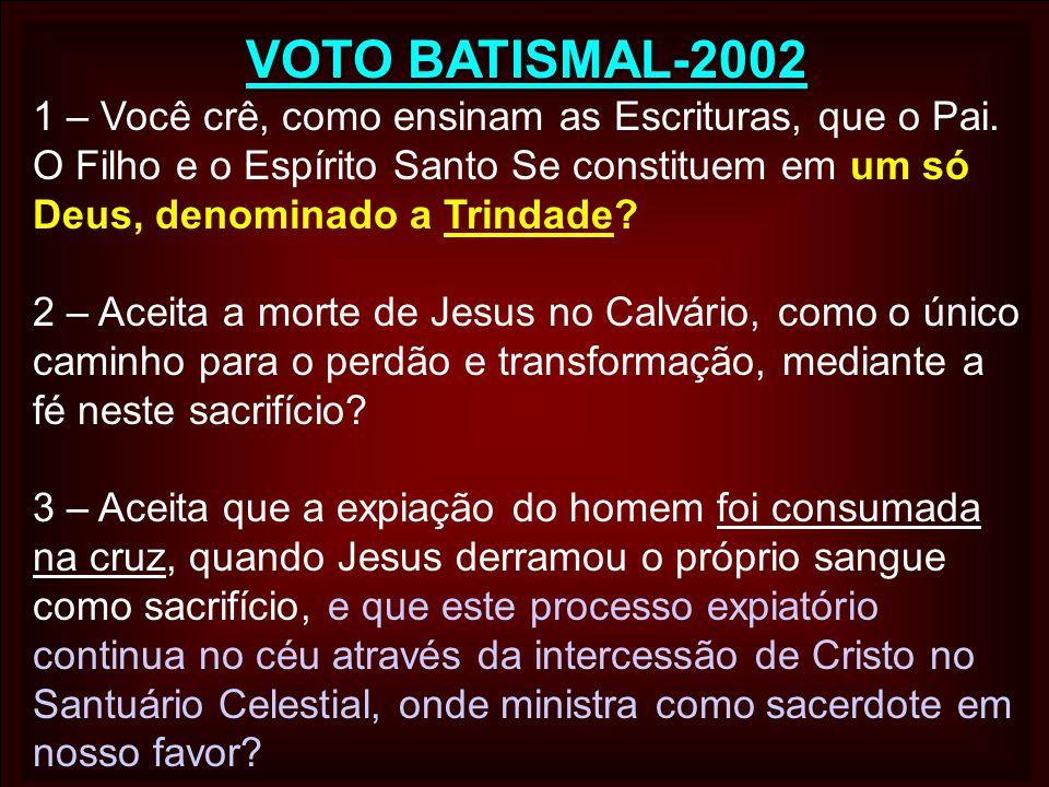 VOTO BATISMAL-2002