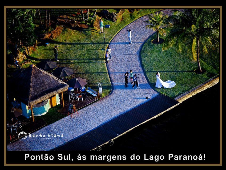 Pontão Sul, às margens do Lago Paranoá!