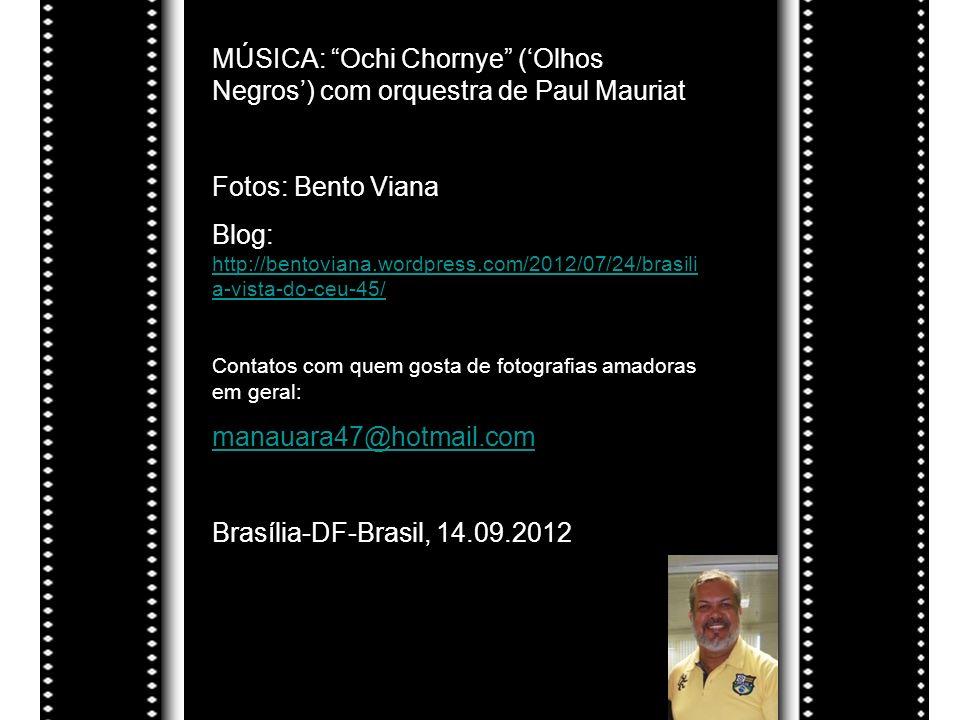 MÚSICA: Ochi Chornye ('Olhos Negros') com orquestra de Paul Mauriat