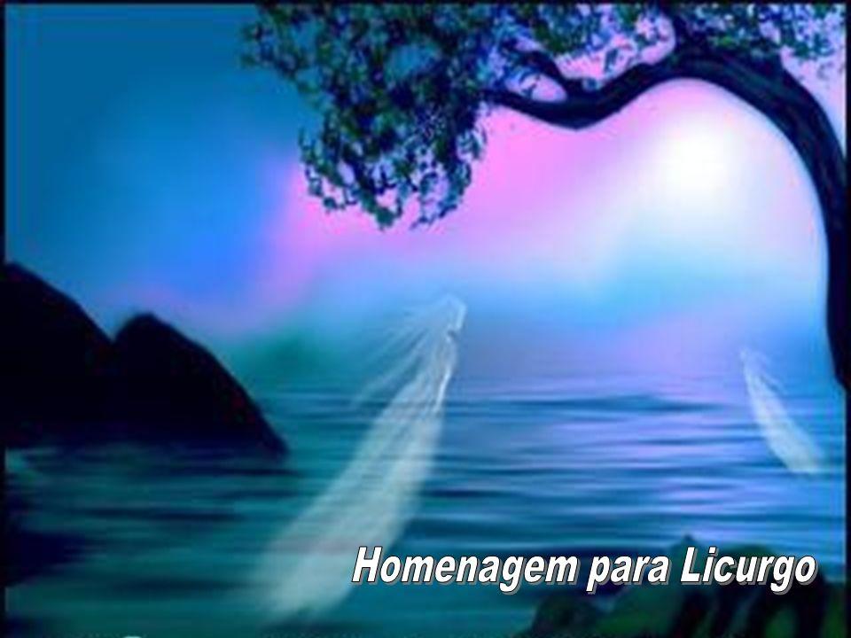 Homenagem para Licurgo