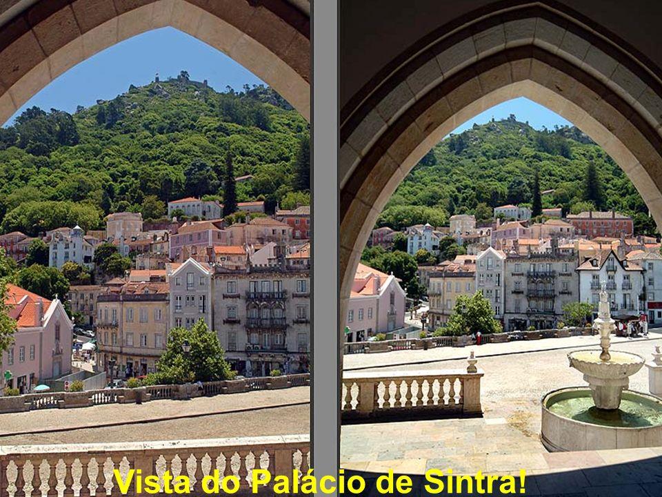 Vista do Palácio de Sintra!