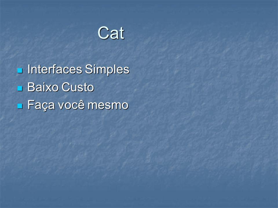 Cat Interfaces Simples Baixo Custo Faça você mesmo