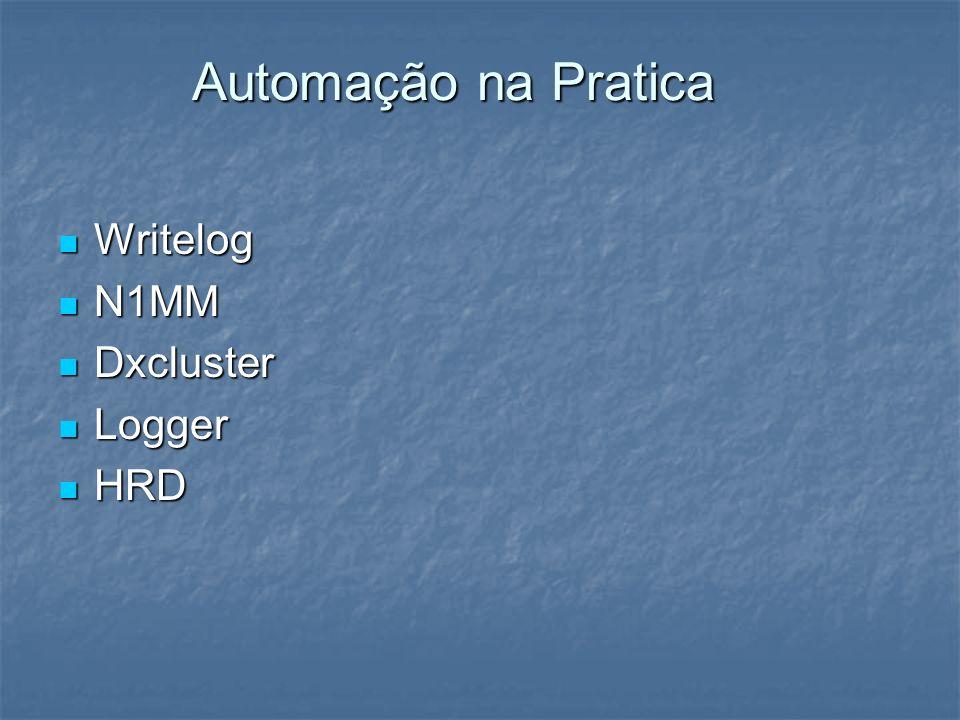 Automação na Pratica Writelog N1MM Dxcluster Logger HRD