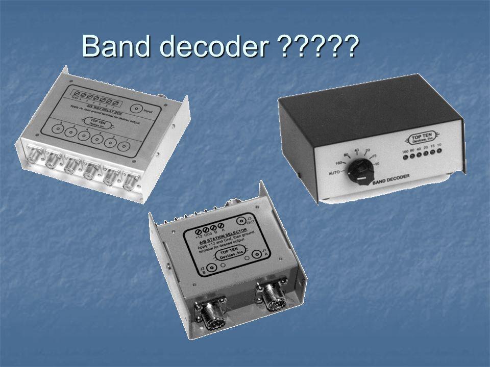Band decoder