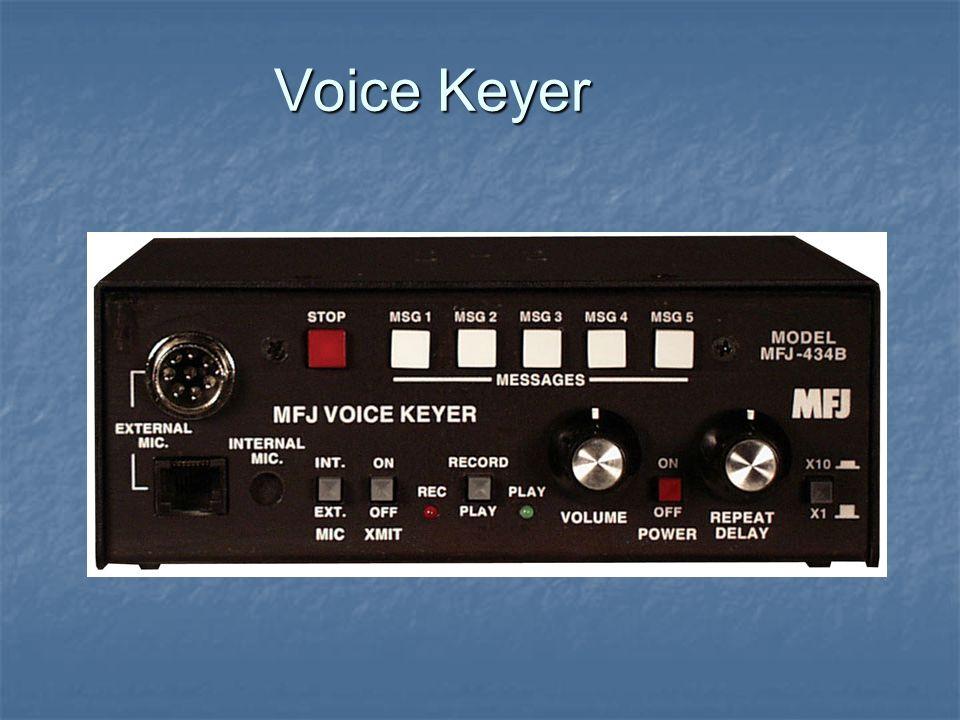 Voice Keyer
