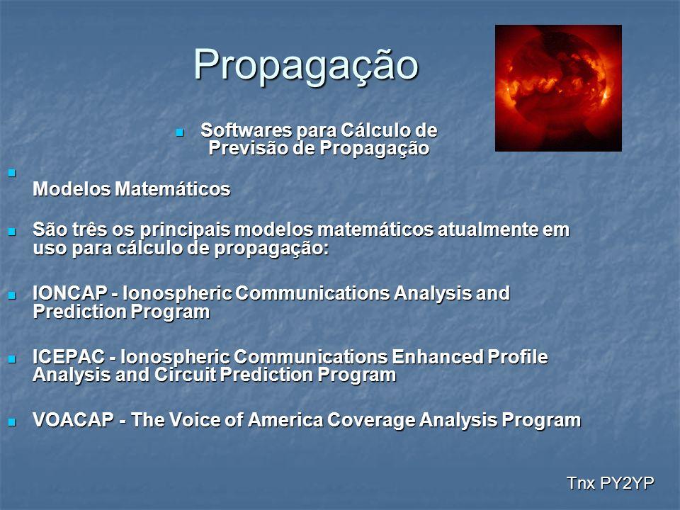 Softwares para Cálculo de Previsão de Propagação
