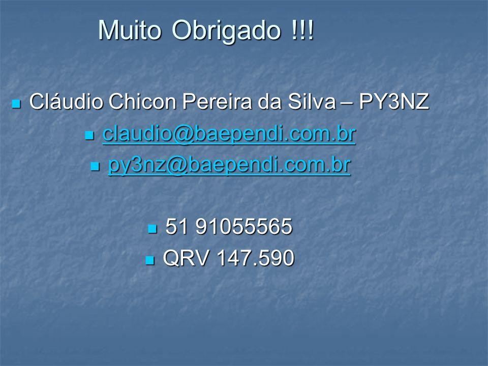 Cláudio Chicon Pereira da Silva – PY3NZ