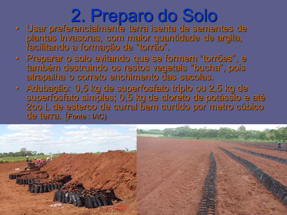 2. Preparo do Solo