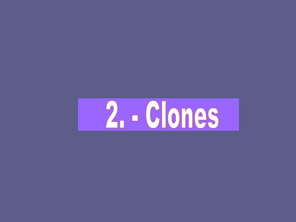 2. - Clones