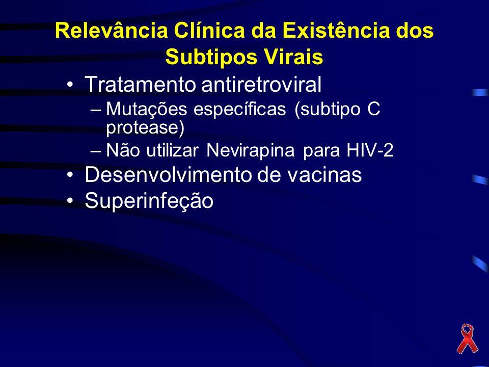 Relevância Clínica da Existência dos Subtipos Virais
