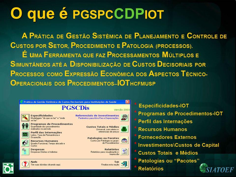 O que é PGSPCCDPIOT