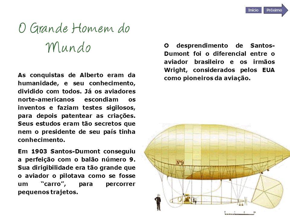 O desprendimento de Santos-Dumont foi o diferencial entre o aviador brasileiro e os irmãos Wright, considerados pelos EUA como pioneiros da aviação.