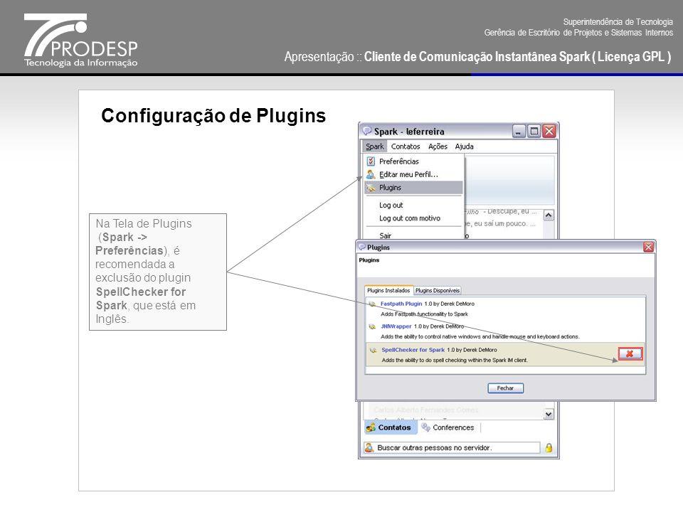 Configuração de Plugins
