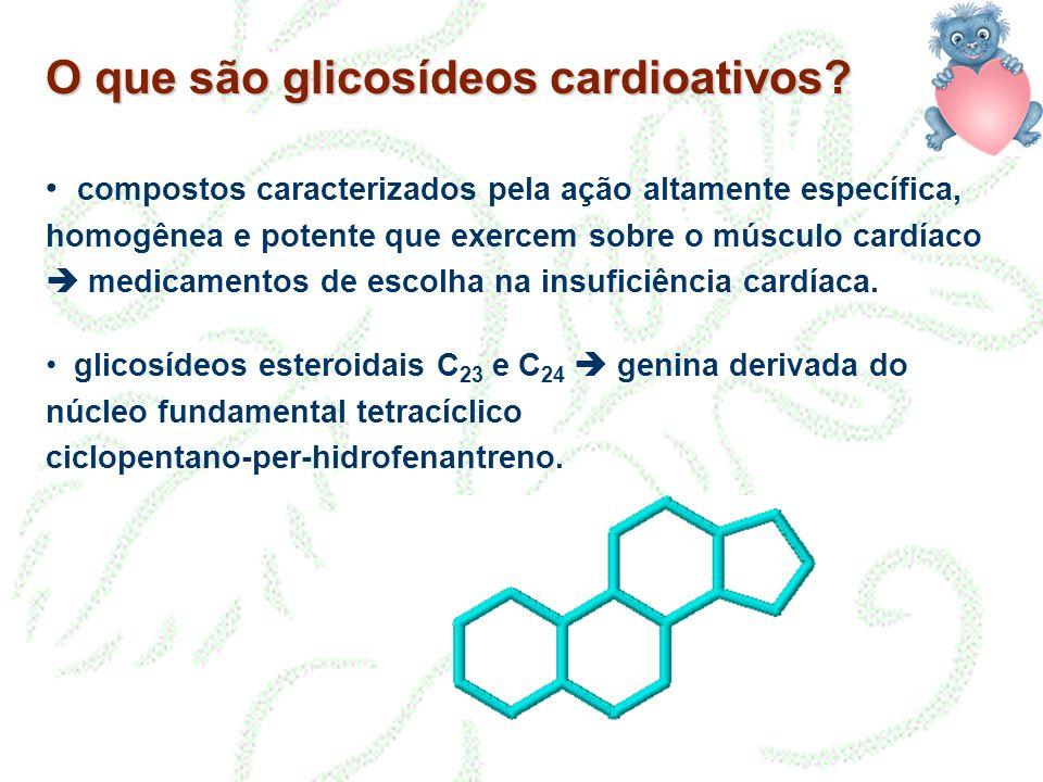 O que são glicosídeos cardioativos