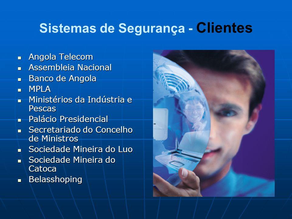 Sistemas de Segurança - Clientes