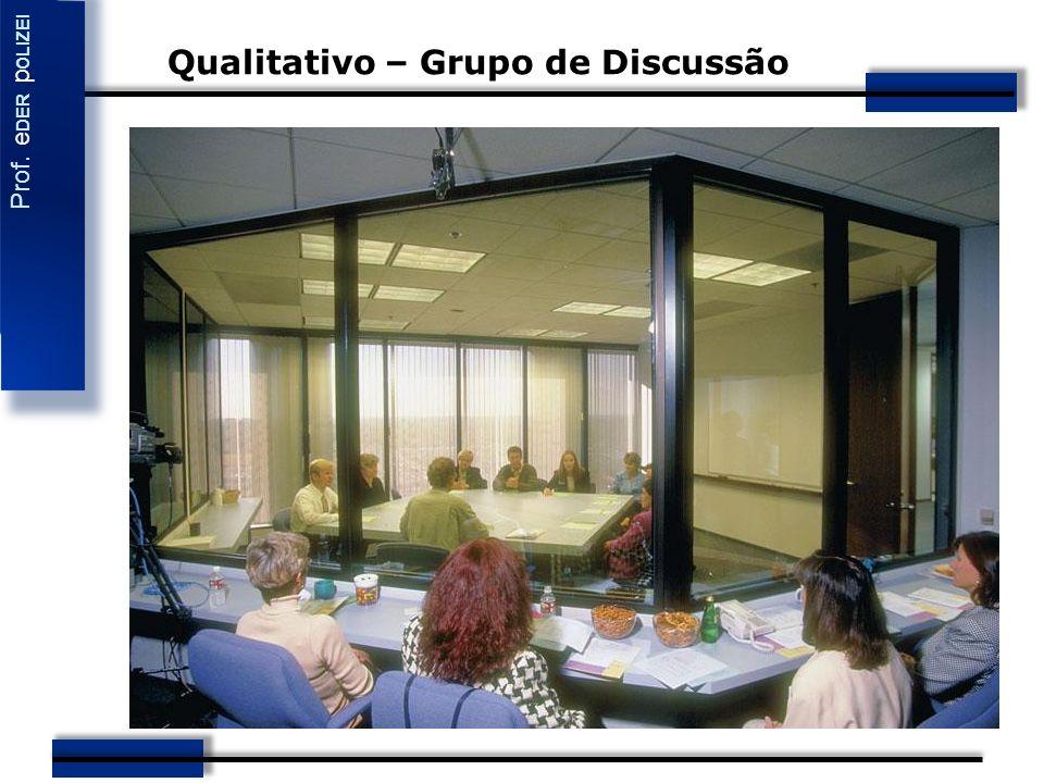 Qualitativo – Grupo de Discussão
