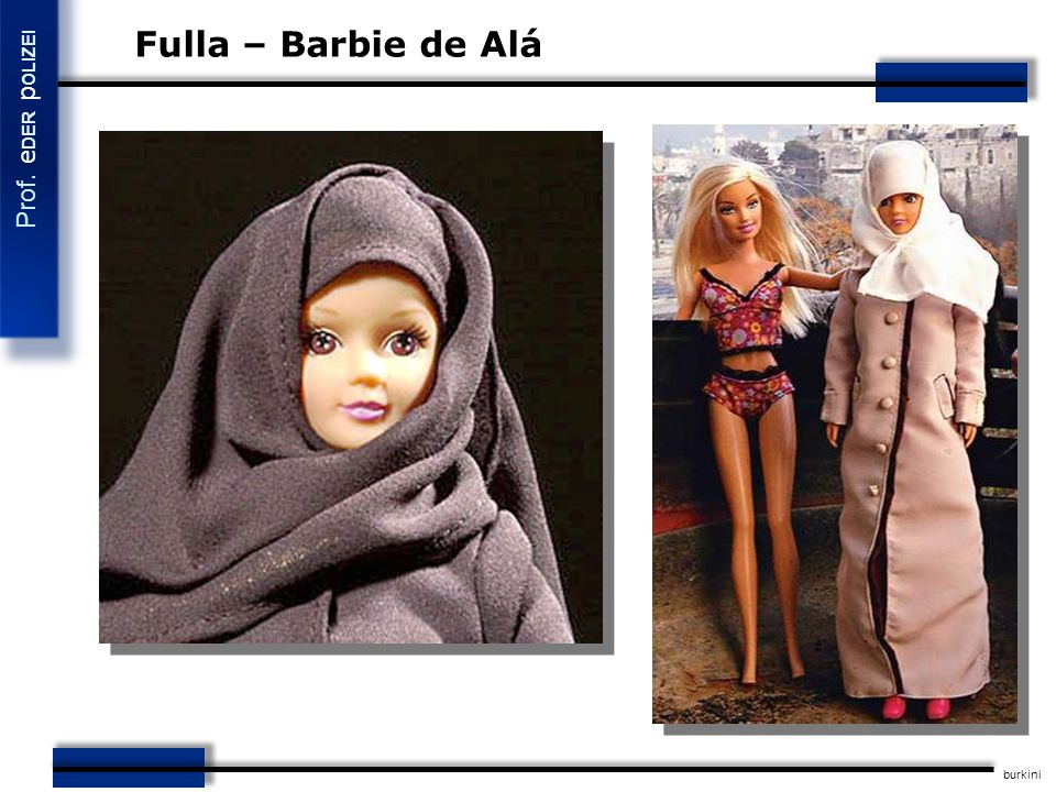 Fulla – Barbie de Alá burkini 34