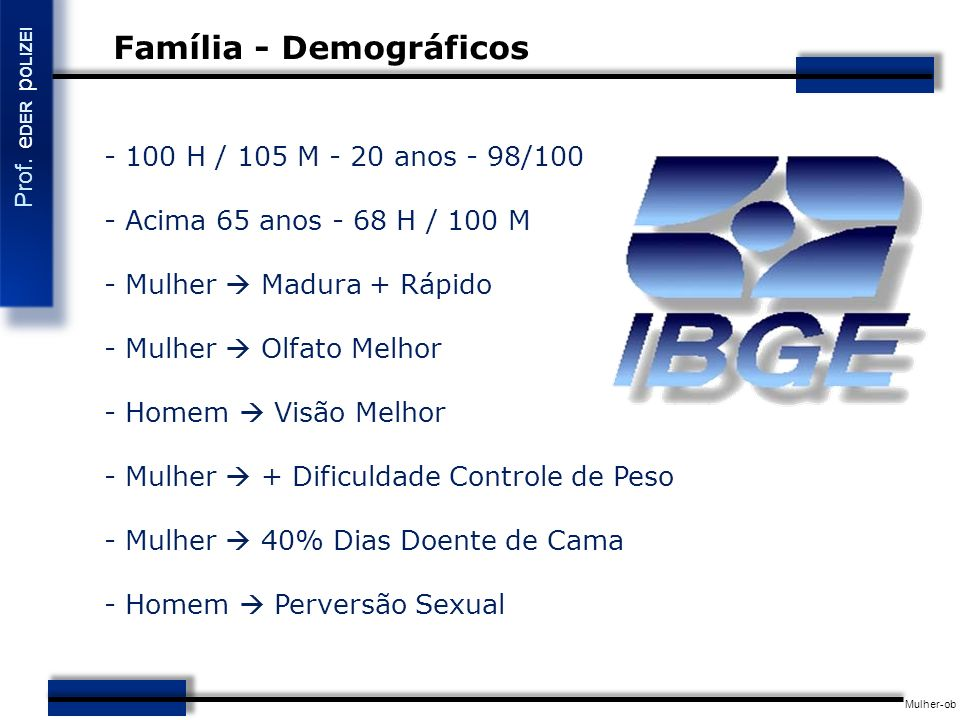 Família - Demográficos