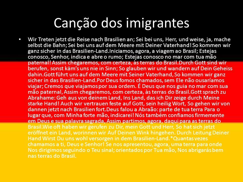 Canção dos imigrantes