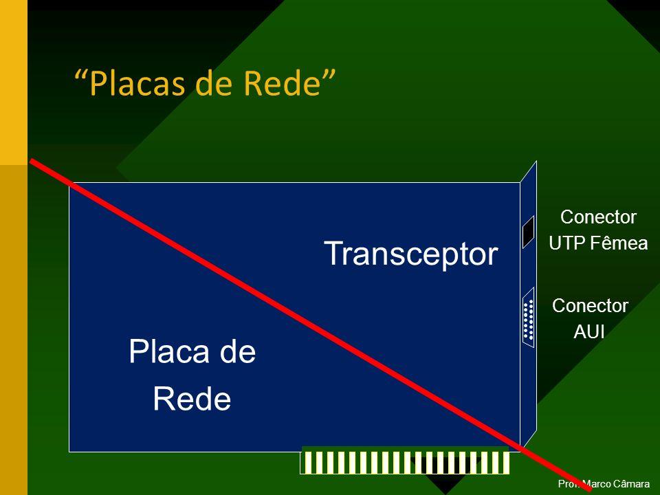 Placas de Rede Transceptor Placa de Rede Conector UTP Fêmea Conector