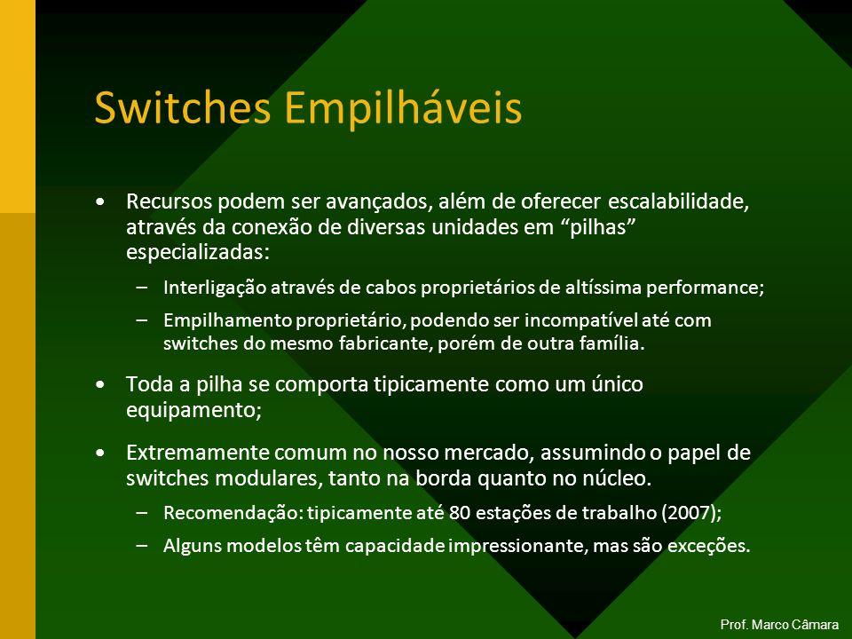 Switches Empilháveis