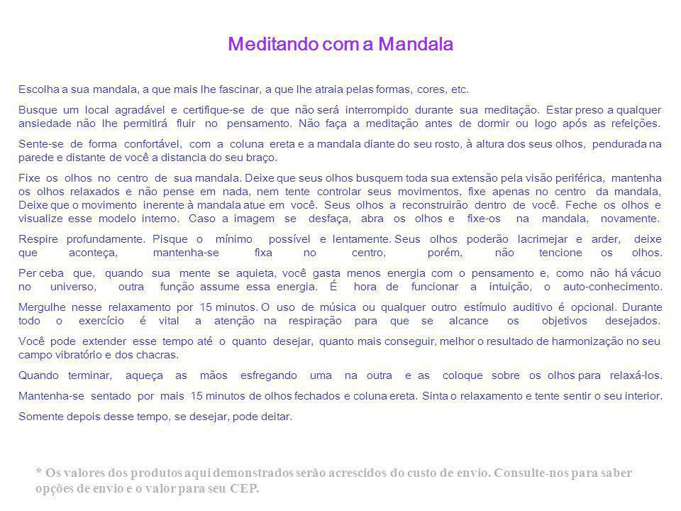 Meditando com a Mandala