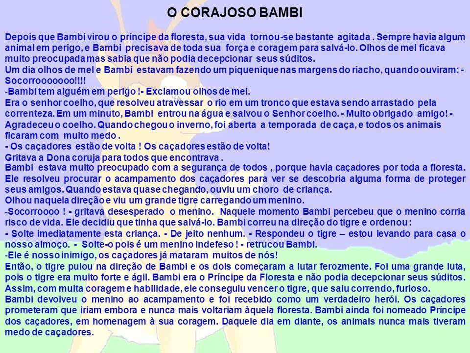 O CORAJOSO BAMBI
