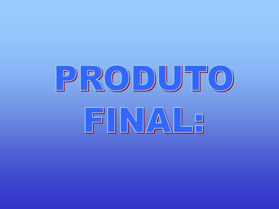 PRODUTO FINAL: