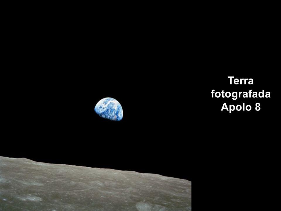 Terra fotografada Apolo 8