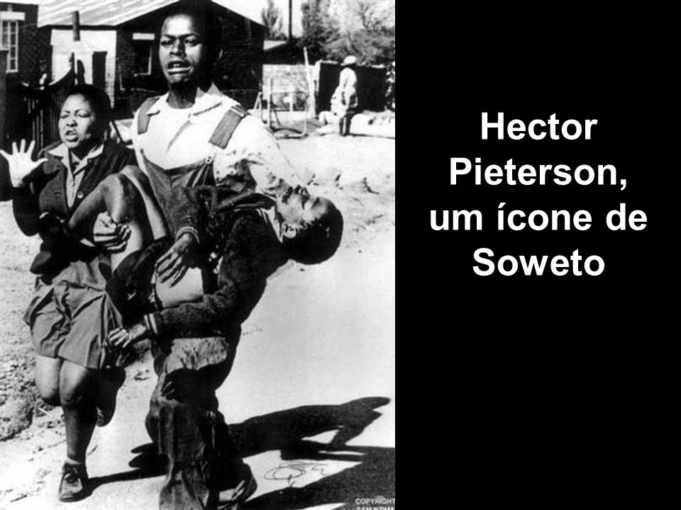 Hector Pieterson, um ícone de Soweto