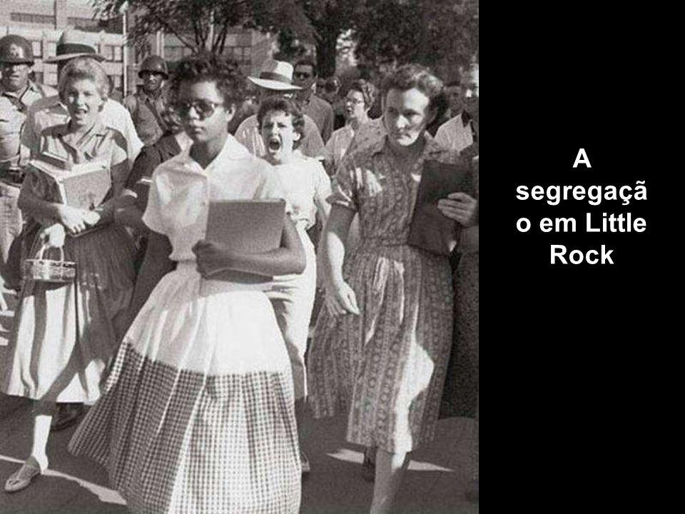 A segregação em Little Rock