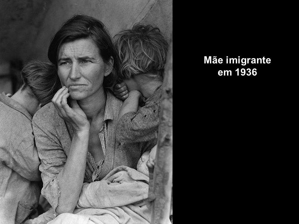 Mãe imigrante em 1936