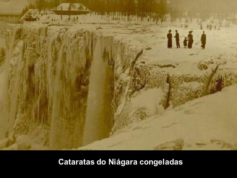 Cataratas do Niágara congeladas
