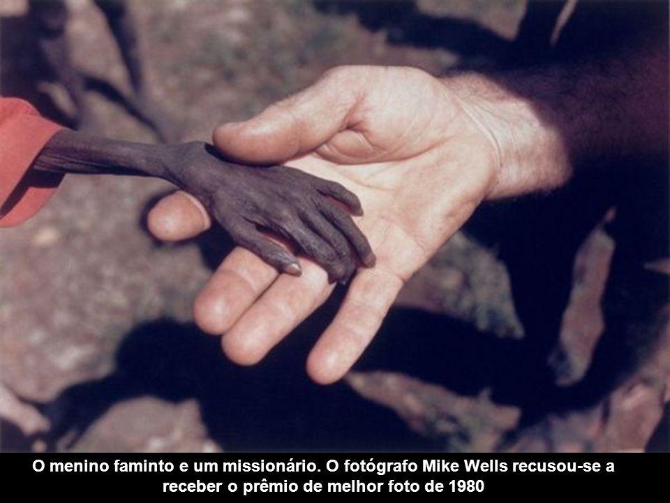O menino faminto e um missionário