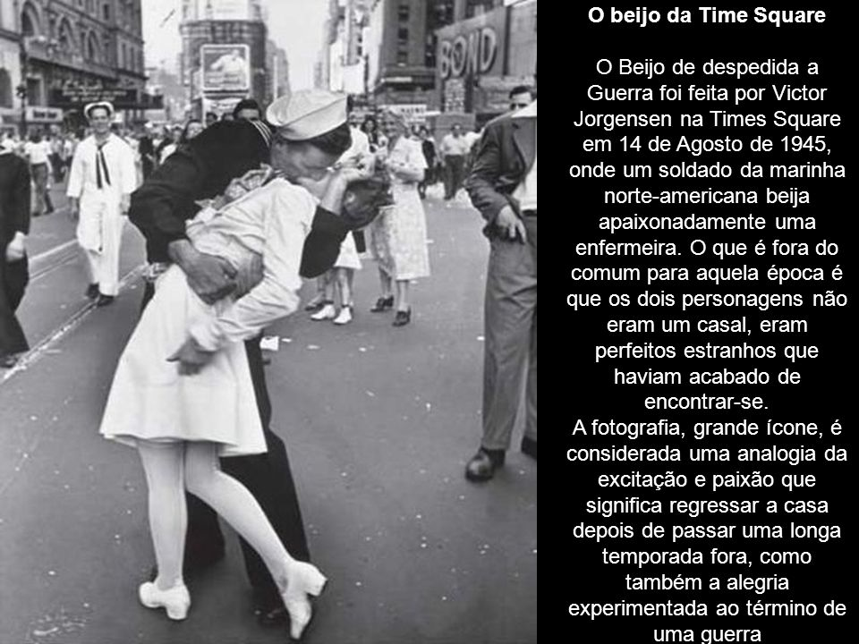 O beijo da Time Square