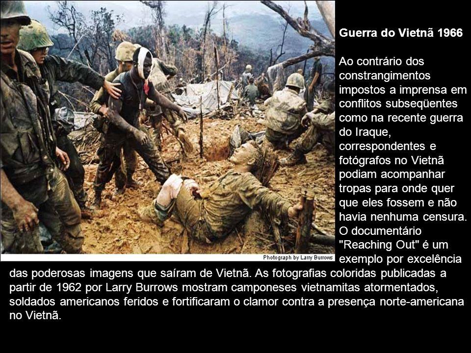 Guerra do Vietnã 1966. Ao contrário dos. constrangimentos