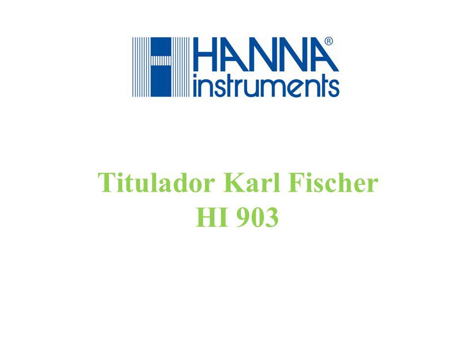 Titulador Karl Fischer HI 903