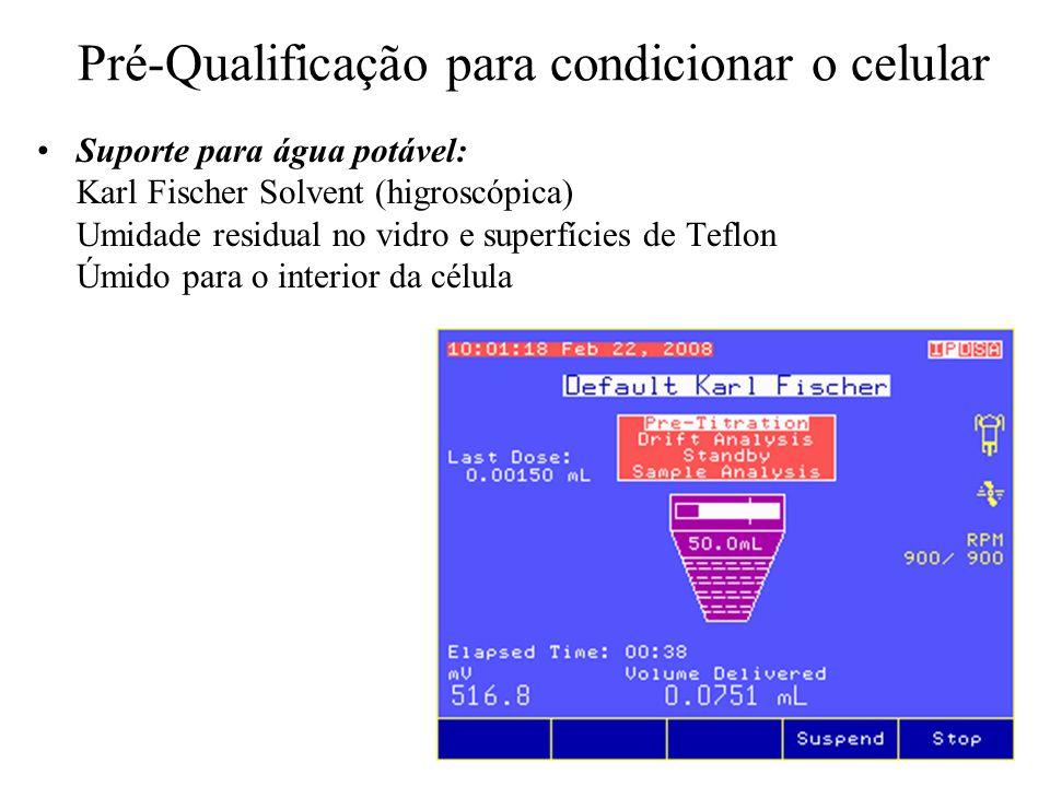 Pré-Qualificação para condicionar o celular