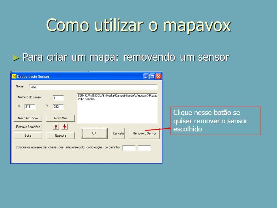 Como utilizar o mapavox
